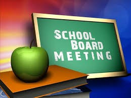 Board of Education Meeting, Wednesday, August 21st