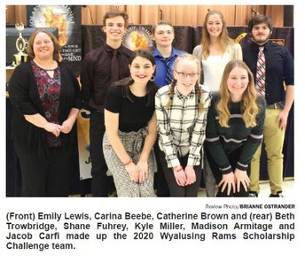 Wyalusing High School Team Earns 1st Place in Preliminary Round