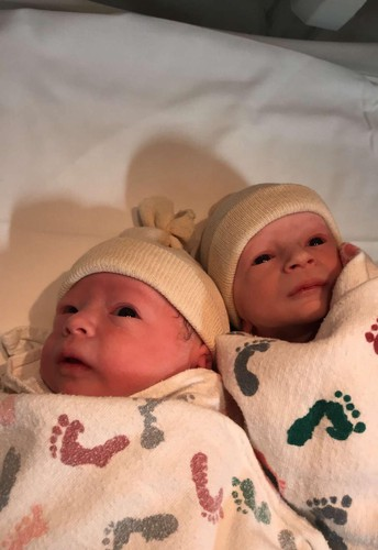 Congratulations to Pam Agnew on her new grandbabies!