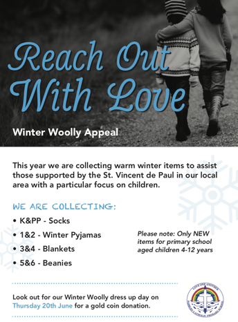 Reach out with Love