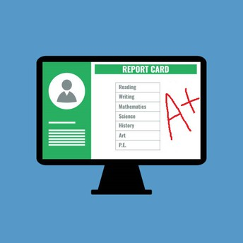 Online Report Cards are viewable online