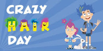 April 13 - Crazy Hair Day
