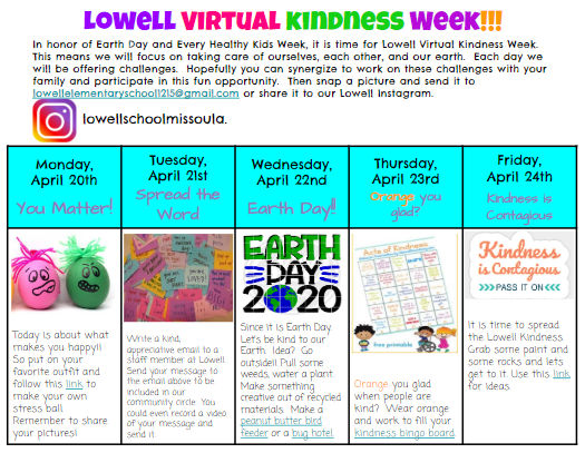 Virtual Kindness Week