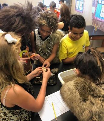 6th Grade Students Cro-Magnon Day