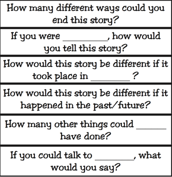 More Questions that Encourage Divergent Thinking