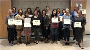 Monomoy educators complete graduate training in trauma and learning