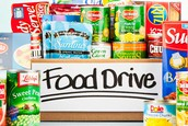 Tackle Hunger Food Drive  - Nov. 6th-10th
