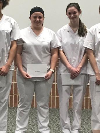 Senior Students receive CNA Diplomas
