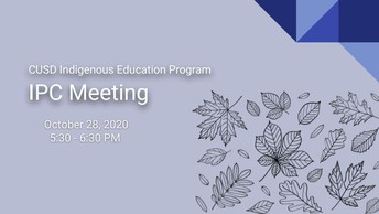 October IPC Meeting