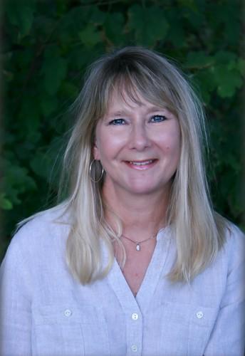 Proyector de la maestra de primaria - Teri Studebaker