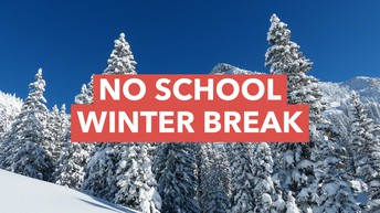 Holiday Break:  There will be no school December 21 through January 2.  School resumes on Thursday, January 3, 2019.  It will be a Day 1.