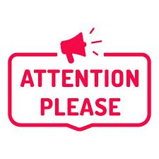 Attention Parents!
