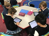 Ipads for the MAP testing in grade 2!