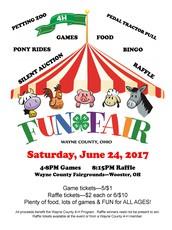 4-H Fun Fair Coming Up Saturday June 24th