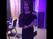 Miss Elba Wins the Shining Star Award