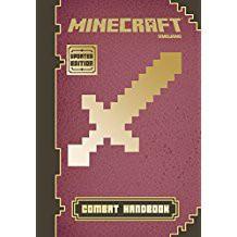Minecraft Combat Handbook. written by Stephanie Milton