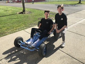 Go Cart made in Manufacturing