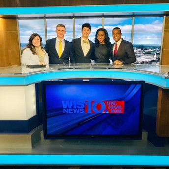 Gators of the Week:  Ms. Byrd's CREW advocates on TV for needs in the community