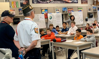 Veteran's Day: Living History in the Classroom
