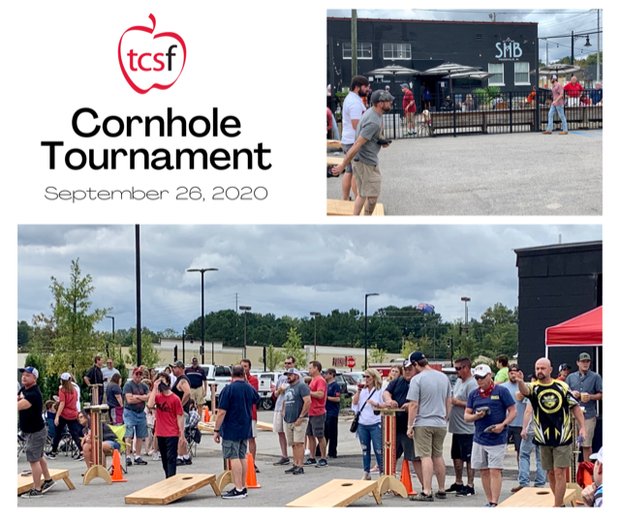 pictures of groups from Cornhole Tournament September 26, 2020