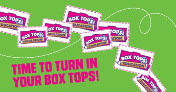 TIME TO TURN IN YOUR BOX TOPS