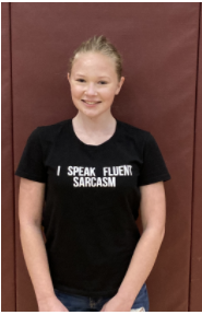 PE Student of the Month- Gabrielle Sick