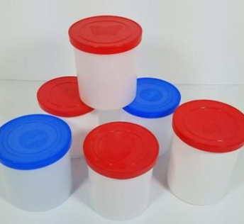 Save Your Plastic Frosting Containers for Art Class