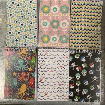 Mini Spiral Notebooks