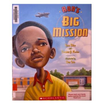 """Book Blurb- """"Ron's Big Mission"""""""