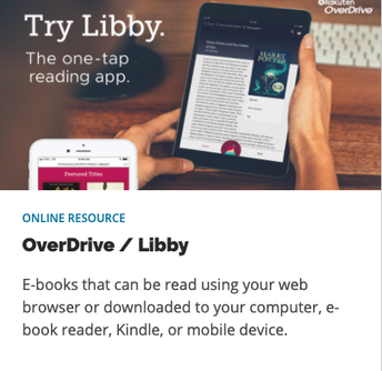 Overdrive / Libby