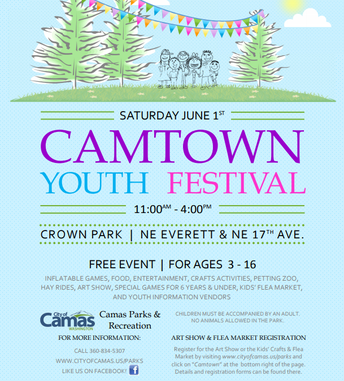 JUNE 1 :  CAMTOWN FESTIVAL