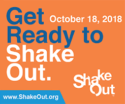 The CA, Great Shake Out, 10/18