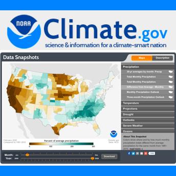 Climate.gov screenshot