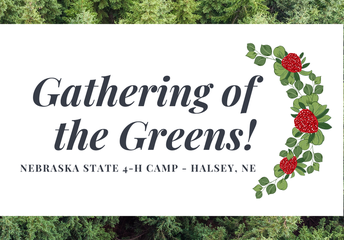 Gathering of the Greens - 4-H Camp in Halsey