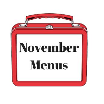 November Breakfast & Lunch Menus