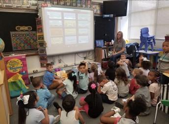Ms. Strickland's Kindergarten Class