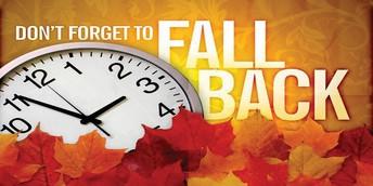 Daylight Savings Time Ending Soon