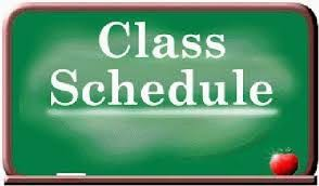 Student Schedules Coming Soon!