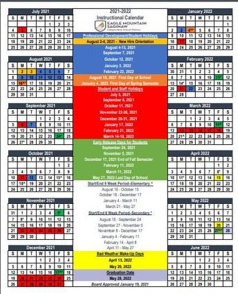 EMS ISD Calendars