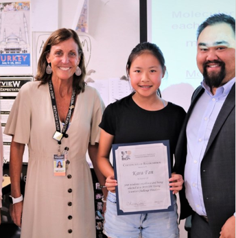 Westview Freshman Kara Fan Recognized for Work on Liquid Bandages