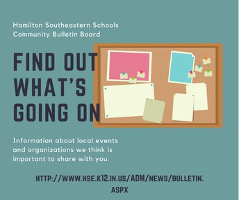 Community Bulletin Board- Find out what's going on!!