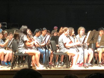 Concert Band Performs at Music in the Park
