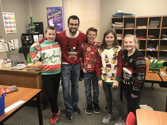 5th Grade is ready for Christmas!