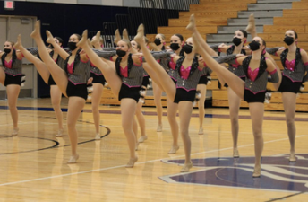 Faribault Emeralds Dance Team Earns 9th Consecutive Conference Championship