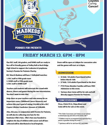 RLC March Madness Event