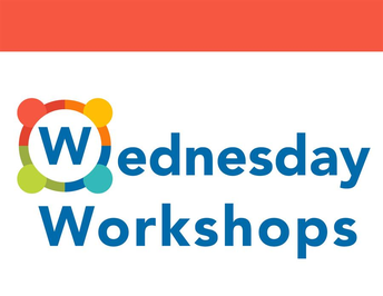 graphic of Wednesday Worshops