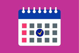 Class of 2020 Calendar
