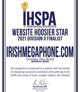 Newspaper & Website Hoosier Star Finalists