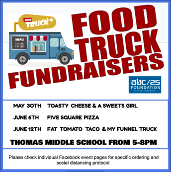ABC/25 FOOD TRUCK FUNDRAISERS