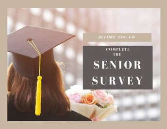 Senior Surveys & Spotlights…Coming Soon!